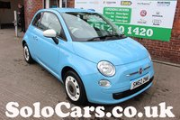 2013 FIAT 500 1.2 COLOUR THERAPY 3d 69 BHP £5499.00