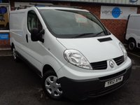 USED 2012 12 RENAULT TRAFIC 2.0 SL27 DEBUT DCI S/R 1d 90 BHP