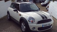 USED 2013 13 MINI HATCH ONE 1.6 ONE D Sport Chili 3d 90 BHP