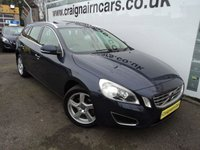 USED 2012 61 VOLVO V60 2.0 D3 SE LUX 5d 161 BHP Massive Spec Car With Full Volvo History