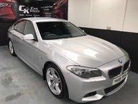 2013 BMW 5 SERIES 2.0 520D M SPORT 4d AUTO 181 BHP £16350.00