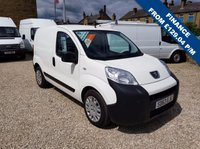 USED 2013 63 PEUGEOT BIPPER 1.3 HDI SE  75 BHP VAN WITH SIDE DOOR EX - NHS - FSH - ONLY 48,000m!