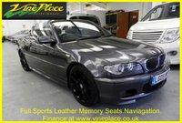 USED 2005 05 BMW 3 SERIES 2.5 325CI SPORT 2d 190 BHP SATELLITE NAV+LEATHER+XENONS