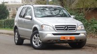 USED 2004 54 MERCEDES-BENZ M CLASS 3.7 ML350 5d AUTO 245 BHP HEATED LEATHER DRIVES SUPERB