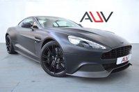 USED 2014 64 ASTON MARTIN VANQUISH 5.9 V12 2d AUTO 568 BHP