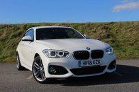 2016 BMW 1 SERIES 2.0 125I M SPORT 3d AUTO 215 BHP £22950.00