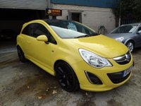 2011 VAUXHALL CORSA 1.2 i 16v Limited Edition 3dr (a/c) £4895.00