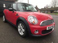 USED 2011 61 MINI HATCH COOPER 1.6 Cooper D Avenue 3dr **FULL SERVICE HISTORY**