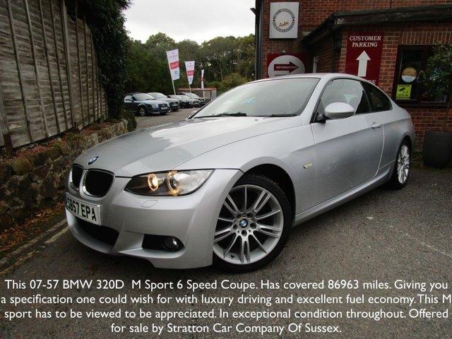 2007 BMW 3 SERIES 2.0 320D M SPORT 2d 175 BHP