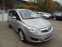 USED 2008 58 VAUXHALL ZAFIRA 1.6 EXCLUSIV 5dr ** Drives superb*
