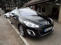 USED 2013 63 PEUGEOT 308 1.6 E-HDI SW ACTIVE NAVIGATION VERSION 5d 115 BHP FULL SERVICE HISTORY, 1 OWNER, 2 KEYS, SAT-NAV, USB CONNECTION, BLUETOOTH, GLASS ROOF, FOLDING MIRRORS