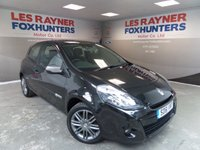 """USED 2011 61 RENAULT CLIO 1.1 DYNAMIQUE TOMTOM 16V 3d 75 BHP bluetooth,aircon,16"""" alloys"""