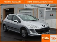 USED 2009 59 PEUGEOT 308 1.6 S 5d 118 BHP LOW MILEAGE FOR AGE