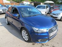 USED 2010 60 AUDI A1 1.4 TFSI SPORT 3d AUTO 122 BHP low miles + b/tooth