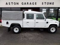 USED 2007 56 LAND ROVER DEFENDER 2.5 130 COUNTY HICAP DCB TD5 120 BHP ** FRONT WINCH * + VAT ** ** FRONT WINCH * FULL HISTORY LOG **