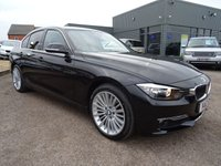USED 2012 12 BMW 3 SERIES 2.0 320D LUXURY 4d 184 BHP 1 PREVIOUS OWNER SPORTS LEATHER  4 MAIN DEALER SERVICE STAMPS JUST HAD 49K MAIN DEALER SERVICE