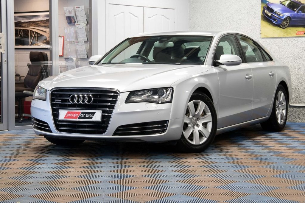 USED 2010 60 AUDI A8 4.2 TDI QUATTRO SE 4d AUTO 346 BHP £12,000 Options   Outstanding Condition