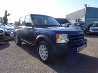 USED 2006 55 LAND ROVER DISCOVERY 2.7 3 TDV6 SE 5d AUTO 188 BHP 7 SERVICE STAMPS 6 MAIN DEALER LANDROVER 1 MAIN DEALER FORD  SAT NAV 2 KEEPERS