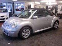 USED 2003 03 VOLKSWAGEN BEETLE 1.6 8V 2d 101 BHP March  2018 MOT,last owner for over 12 years-immaculate for year and mileage with power electric hood -part exchange bargain to clear for ONLY