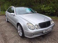 USED 2005 55 MERCEDES-BENZ E CLASS 3.0 E320 CDI SPORT 4d 222 BHP 6 MONTHS PART AND LABOUR WARRANTY