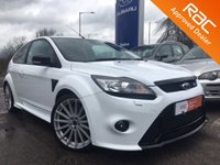2010 FORD FOCUS 2.5 RS 3d 300 BHP £20495.00