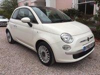 2012 FIAT 500 1.2 LOUNGE 3d 69 BHP £5195.00