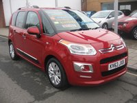USED 2013 63 CITROEN C3 PICASSO 1.6 HDi 8V Exclusive 5-Door 1 owner, only 9,641 miles, only £20 12 months tax