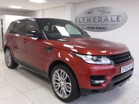 USED 2013 63 LAND ROVER RANGE ROVER SPORT 3.0 SDV6 HSE DYNAMIC 5d AUTO 288 BHP ONE OWNER - FULL DEALER HISTORY SAT NAV PAN ROOF