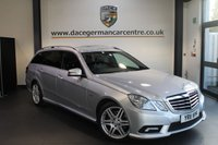 USED 2011 11 MERCEDES-BENZ E CLASS 2.1 E250 CDI BLUEEFFICIENCY SPORT 5DR AUTO 204 BHP + FULL MERC SERVICE HISTORY + HALF BLACK LEATHER INTERIOR + SATELLITE NAVIGATION + BLUETOOTH + HEATED SEATS + CRUISE CONTROL + PARKING SENSORS + 18 INCH ALLOY WHEELS +