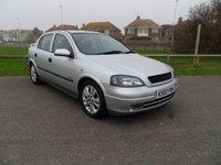 2002 VAUXHALL ASTRA 1.8 SRI 16V 5d 125 BHP SILVER £1295.00