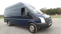 USED 2012 62 FORD TRANSIT 2.2 350 H/R 1d 153 BHP