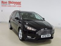 USED 2016 16 FORD FOCUS 1.5 TITANIUM NAVIGATOR TDCI 5d 118 BHP ESTATE with Appearance Pack
