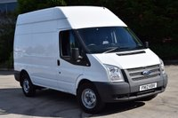 USED 2012 12 FORD TRANSIT 2.2 350 H/R 5d 125 BHP MWB EURO 5 DIESEL PANEL MANUAL VAN ONE OWNER FINANCE AVAILABLE