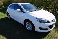 USED 2014 63 VAUXHALL ASTRA 1.4 TECH LINE 5d 98 BHP,SAT-NAV,CRUISE