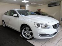 USED 2013 63 VOLVO V60 2.0 D3 SE LUX 5d 134 BHP