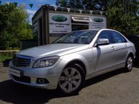 USED 2007 57 MERCEDES-BENZ C CLASS 2.1 C220 CDI ELEGANCE 4d AUTO 168 BHP ** AUTOMATIC + LOW MILES + LEATHER **