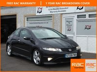 USED 2009 09 HONDA CIVIC 1.8 I-VTEC TYPE S GT 3d 138 BHP Panaramic Roof