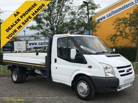 USED 2008 58 FORD TRANSIT 115 T350L Dropside 12ft Alloy body Drw F,S,H Delivery T,B,A