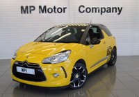 USED 2012 12 CITROEN DS3 1.6 DSTYLE PLUS 3d 120 BHP 1 FORMER, 27k FSH, B/TOOTH,CRUISE