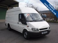 USED 2004 04 FORD TRANSIT 125T 350 2.4TD XLWB JUMBO VAN SOLD WITH NEW MOT AND SERVICE