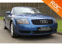 USED 2004 54 AUDI TT 1.8 ROADSTER 2d 148 BHP AN ABSOLUTELY STUNNING EXAMPLE WITH A RECENT TIMING BELT REPLACEMENT AND FULL LEATHER