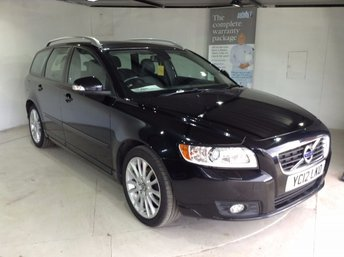 2012 VOLVO V50 1.6 DRIVE SE LUX EDITION S/S 5d 113 BHP £9222.00