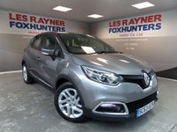 USED 2014 63 RENAULT CAPTUR 0.9 DYNAMIQUE MEDIANAV ENERGY TCE S/S 5d 90 BHP Bluetooth , Sat Nav , 1 owner