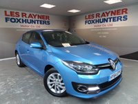 USED 2014 64 RENAULT MEGANE 1.5 DYNAMIQUE TOMTOM ENERGY DCI S/S 5d 110 BHP Full Service History ,Sat Nav, Cruise control