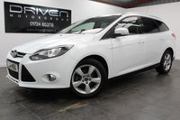 USED 2014 14 FORD FOCUS 1.6 ZETEC NAVIGATOR TDCI 5d 113 BHP ESTATE