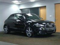 USED 2011 11 AUDI A1 1.6 TDI SPORT 3d 103 BHP BRILLIANT BLACK