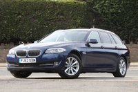 USED 2013 62 BMW 5 SERIES 2.0 520D SE TOURING 5d AUTO 181 BHP 1 Owner From New