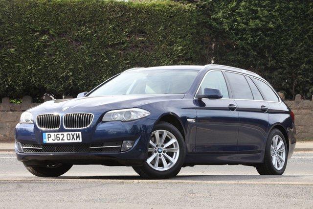 2013 62 BMW 5 SERIES 2.0 520D SE TOURING 5d AUTO 181 BHP