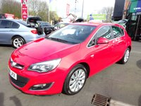 USED 2014 14 VAUXHALL ASTRA 1.6 ELITE 5d 113 BHP JUST ARRIVED CALL 01543 379066