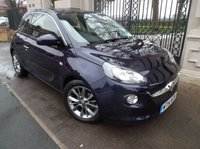USED 2014 14 VAUXHALL ADAM 1.2 JAM 3dr 69 BHP 1 OWNER FROM NEW 5000 MILES AIR/CON CRUISE CONTROL BLUETOOTH PHONE  *** FINANCE & PART EXCHANGE WELCOME ***